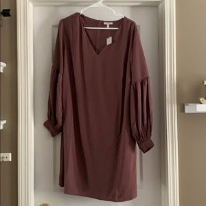 NWT Mauve long sleeve XL maurices dress